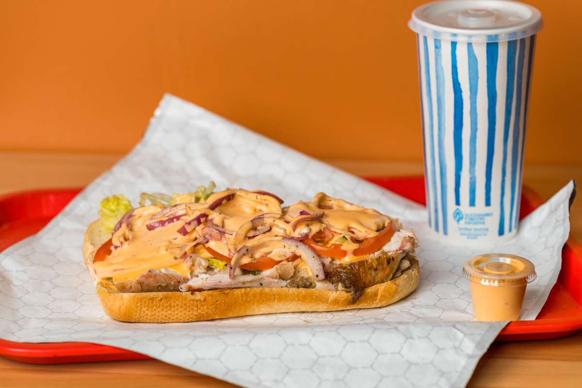 Latino Chicken Sandwich