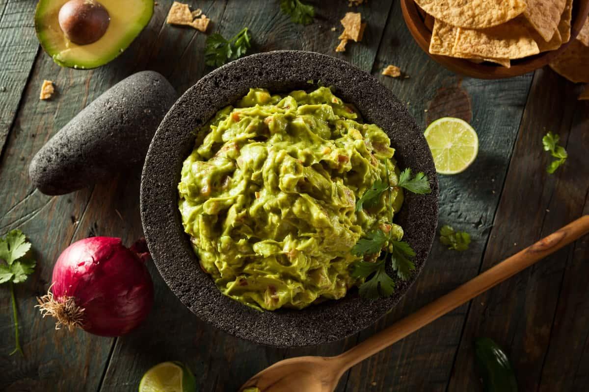 rincon dels sol food banner of guacamole