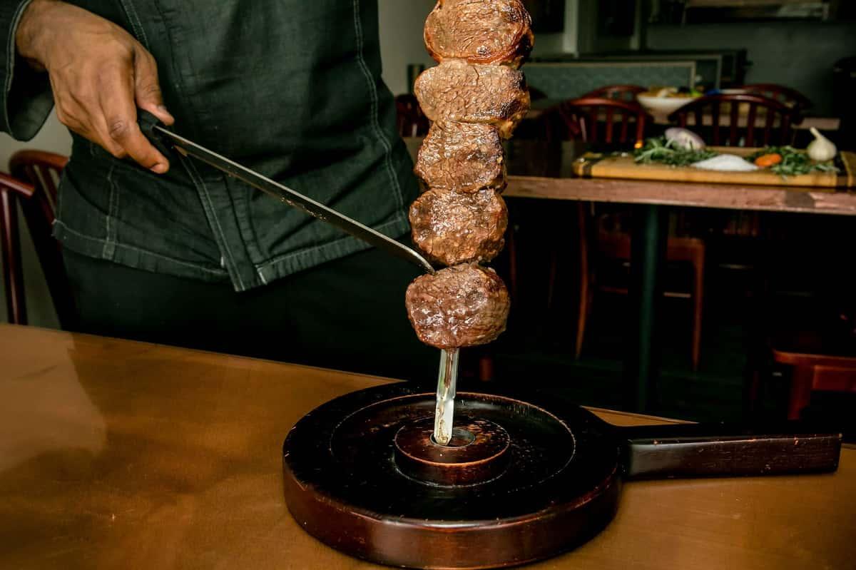 Filet Mignon with Bacon