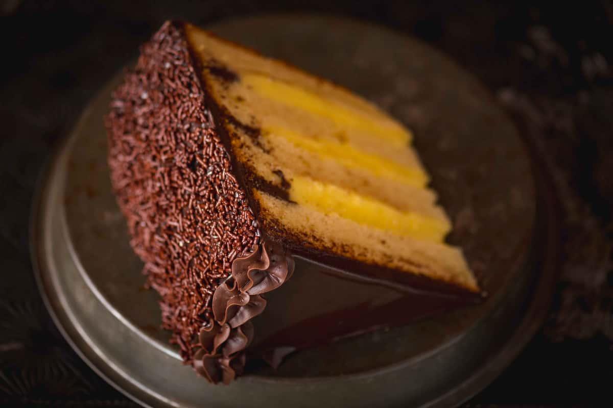 Boston Cream Pie Cake