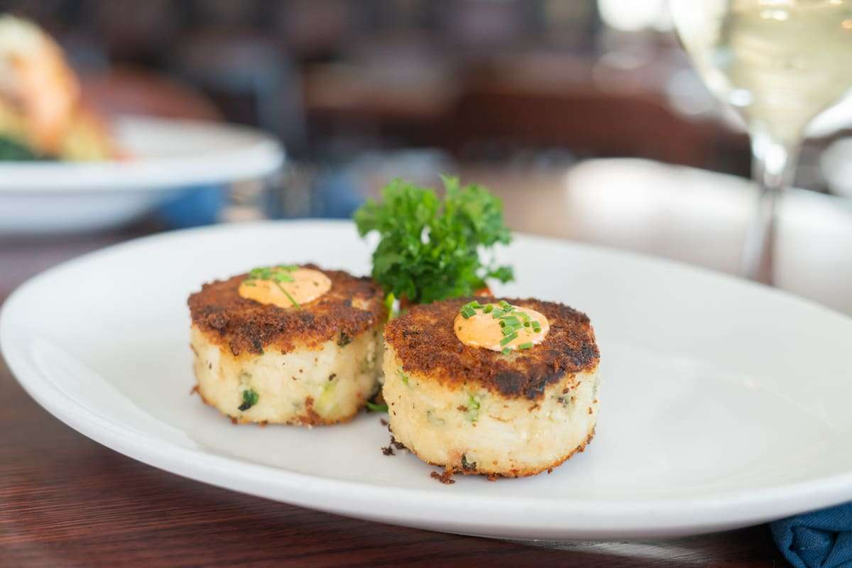 Twin Maryland Lump Crab Cakes