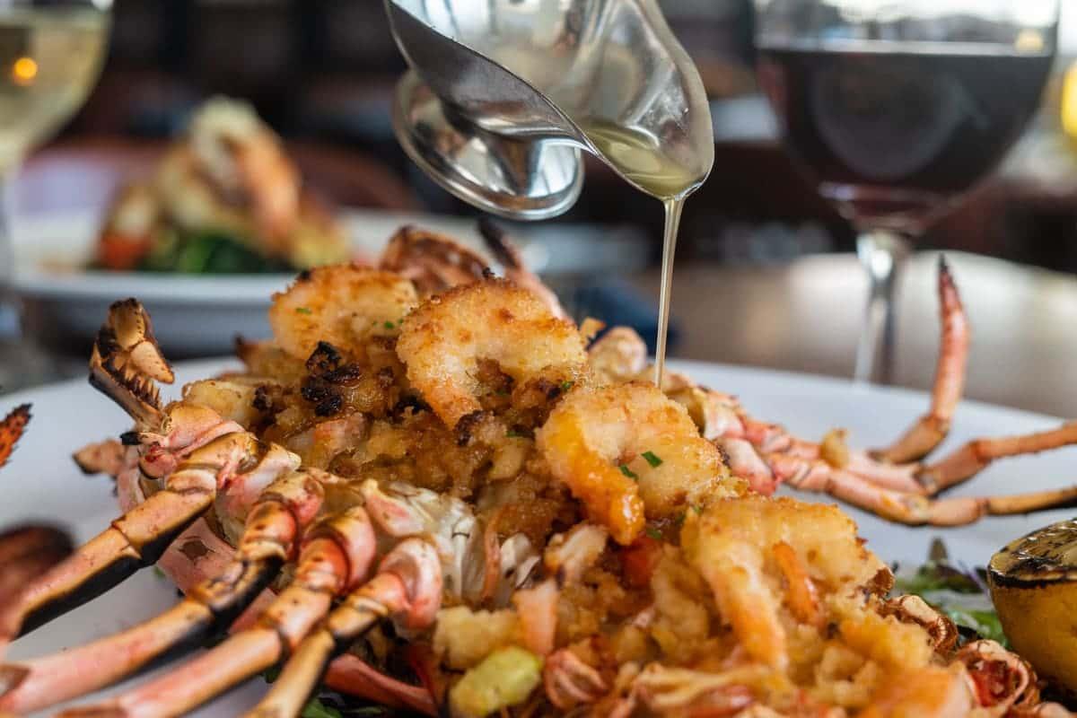 stuffed lobster