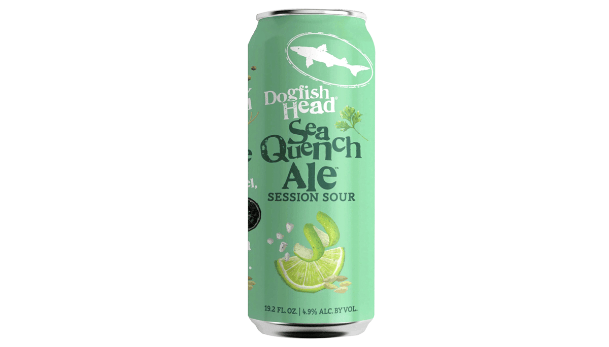 "Dogfish Head ""Sea Quench"" (4.9%) [12oz CAN]"