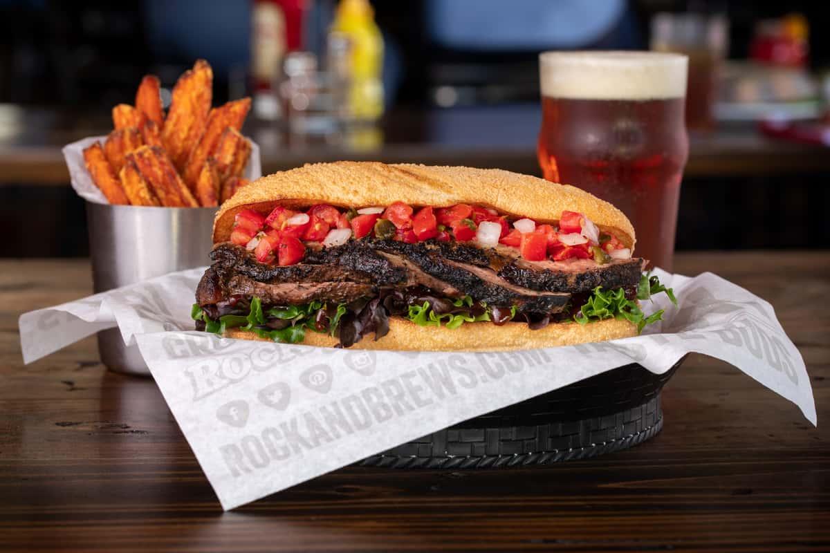 santa maria tri-tip sandwich