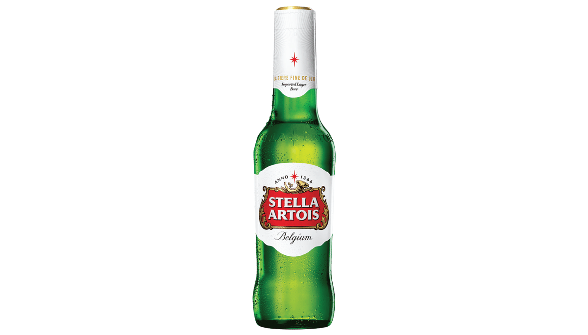 Stella Artois (5%) [12oz BOTTLE]