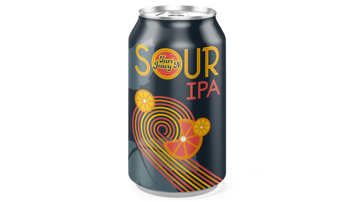 """Epic Brewing Co. """"Tart N' Juicy"""" Sour IPA (4.5%) [12oz CAN]"""
