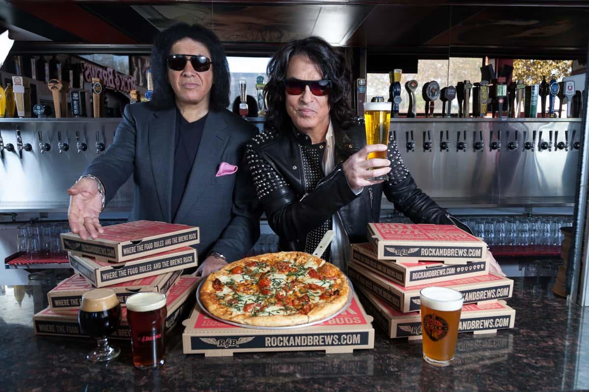 Gene & Paul w/ Food & Beer