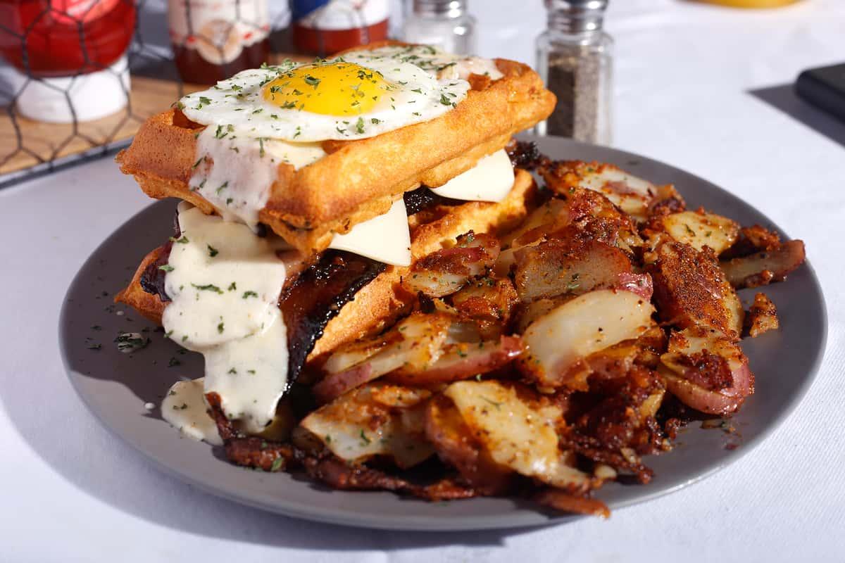 Sweet Meat Breakfast Sando