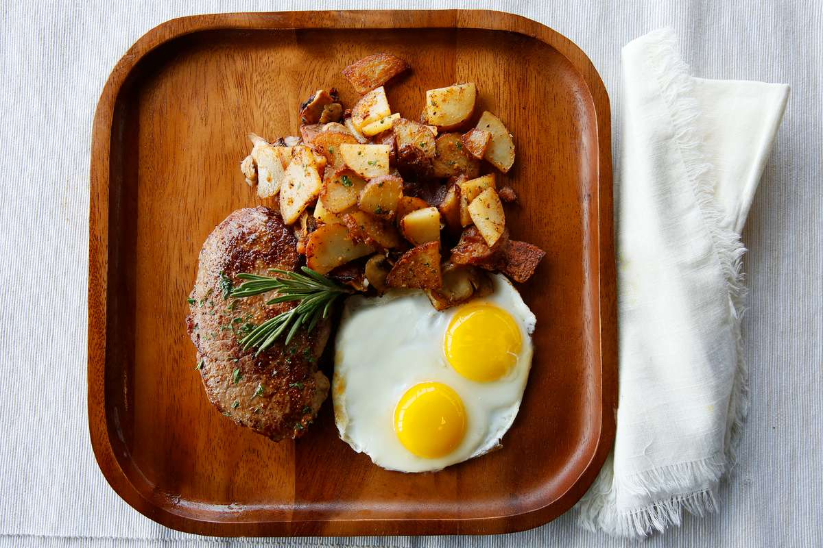 Ribeye Steak & Eggs