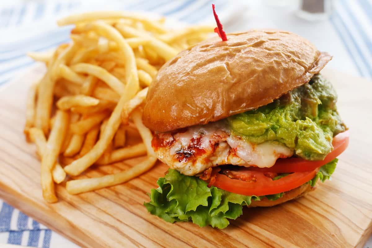 Sriracha Chicken Burger