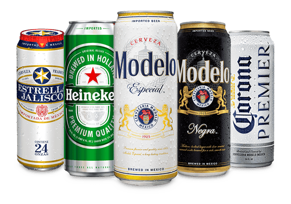 All Imported Beers