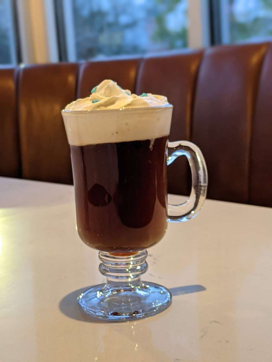 Irish Coffee (hot or iced)