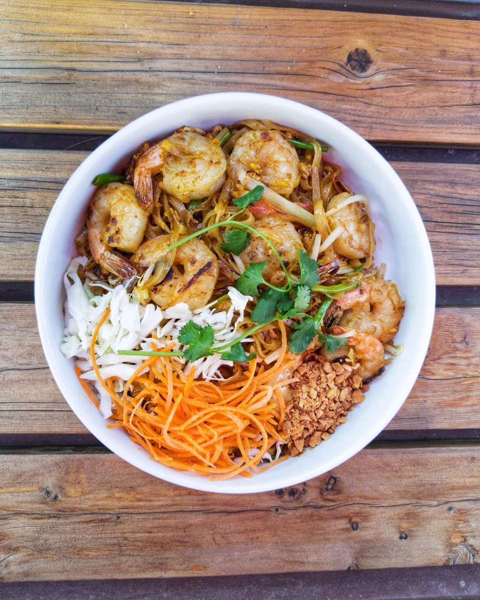 Such a nice looking Pad Thai with Shrimp