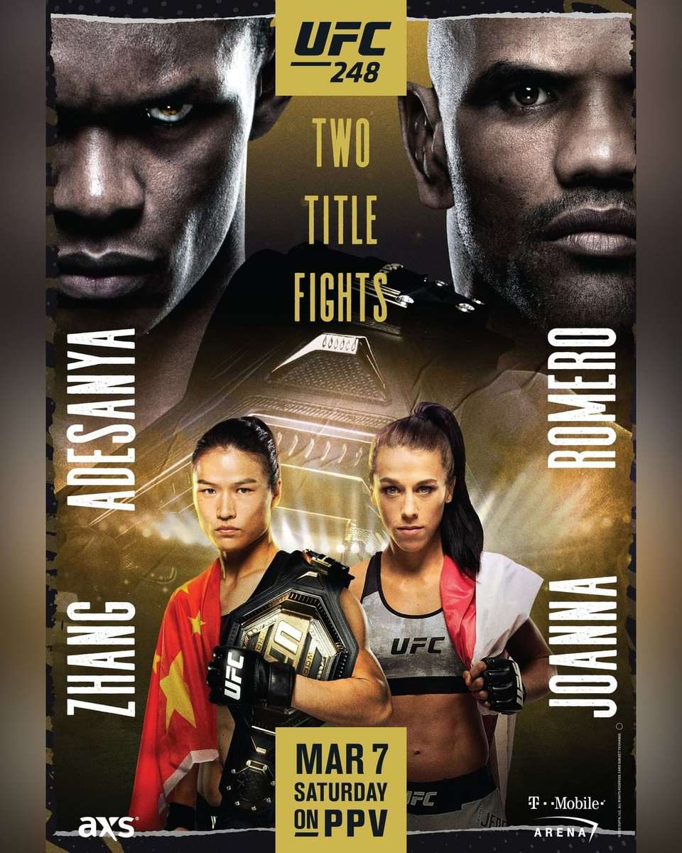 UFC 248 Adesanya vs Romero & Zang vs Joanna
