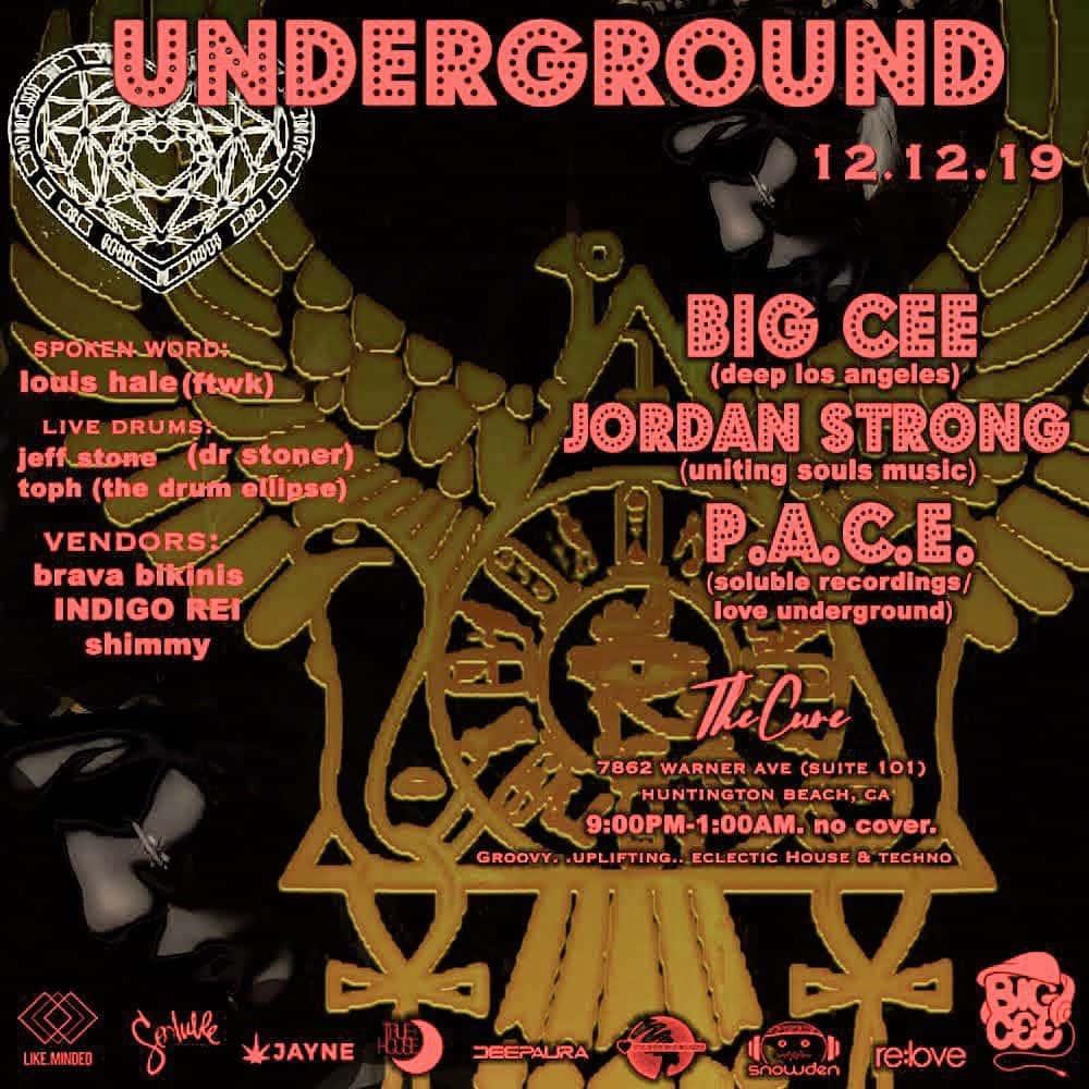 Live Underground Music 12.12.19 - Asian Fusion Restaurant & Bar