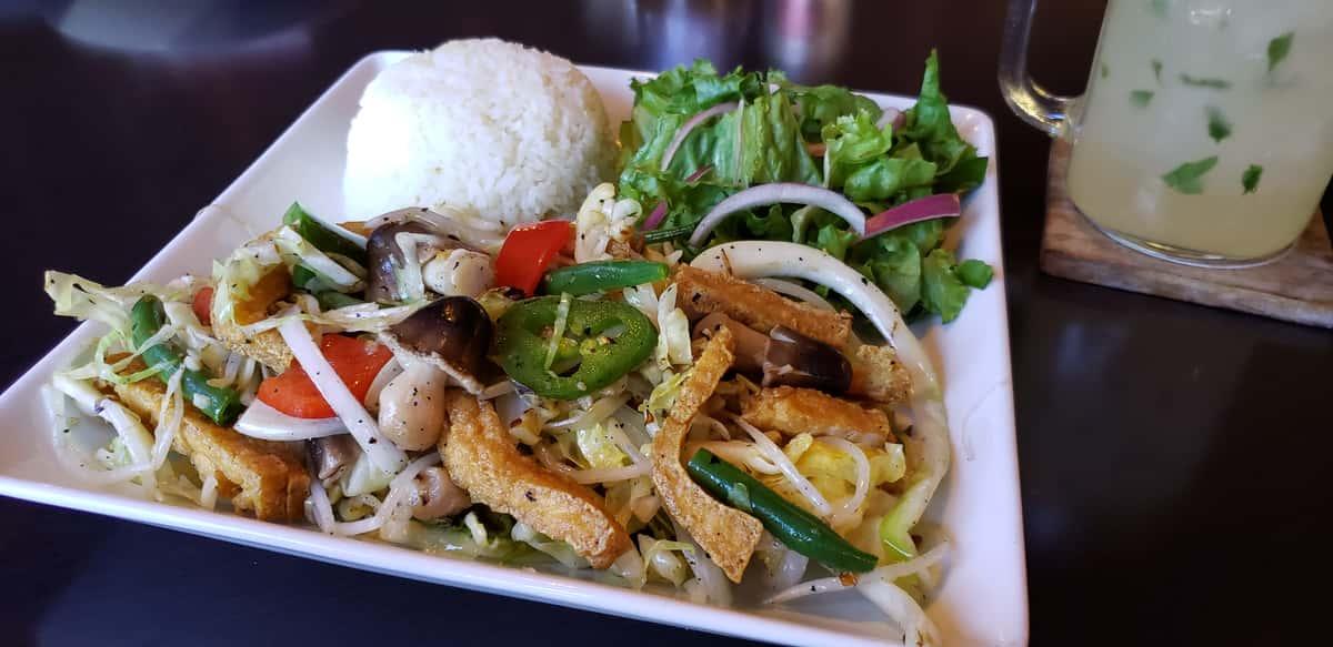 🌿 Vegan Buddha Stir Fry