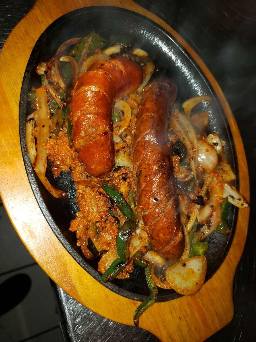 Chorizo Fajita Dinner