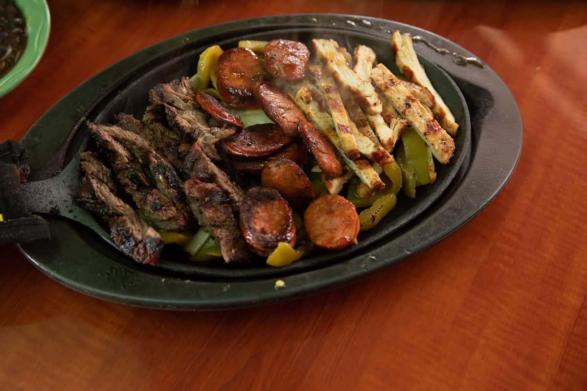 Chicken & Beef Fajitas