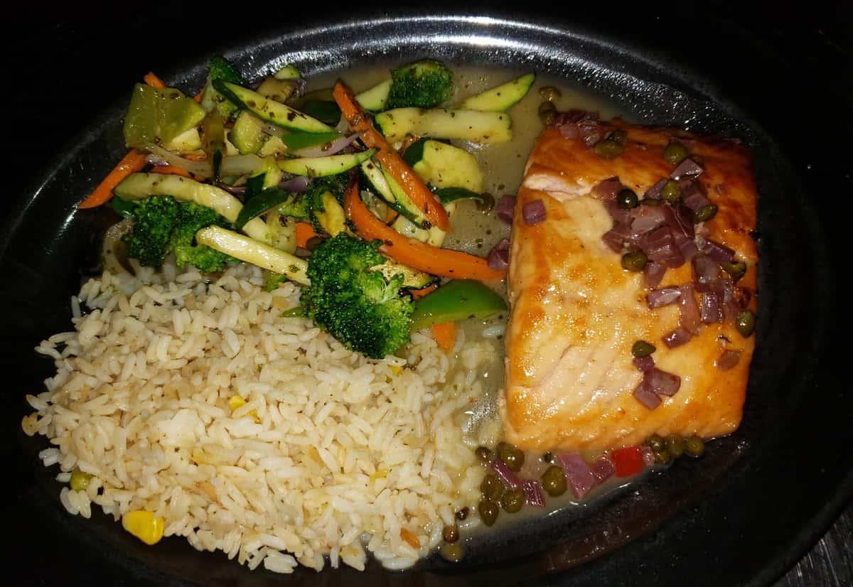 Salmon a La Navarra