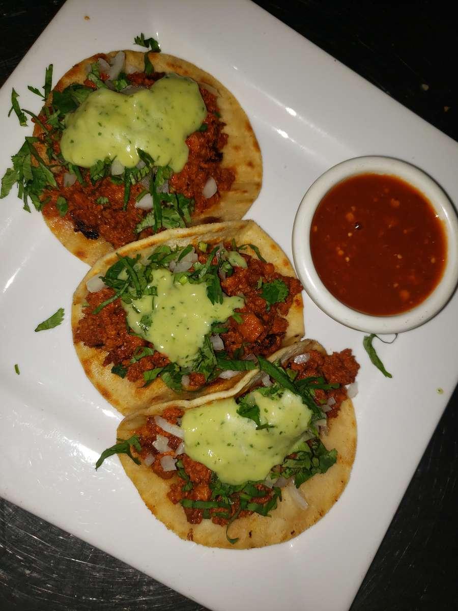 Tacos Chorizo (Mexican Sausage)