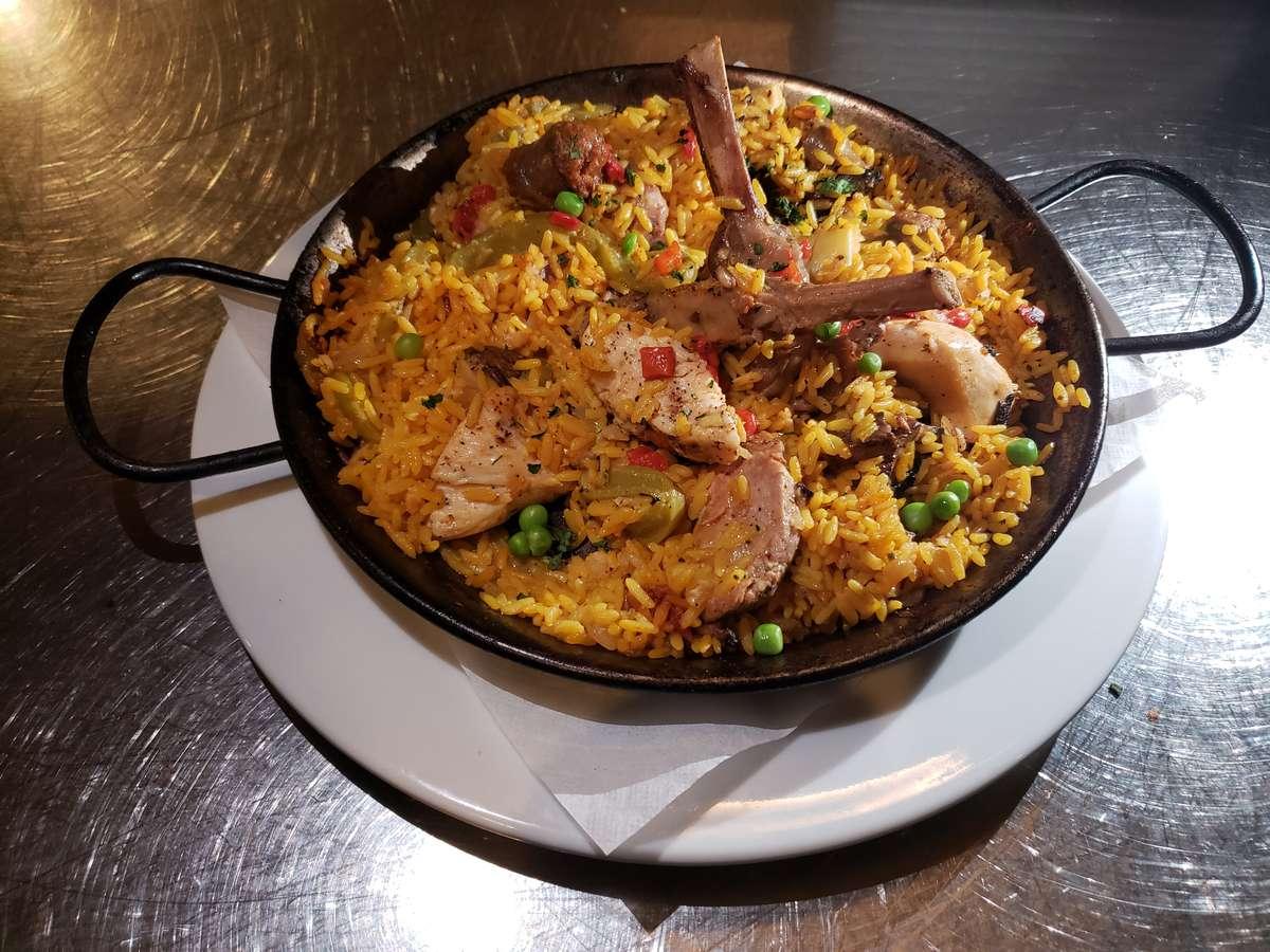 Paella Catalana (Allow 20 minutes)