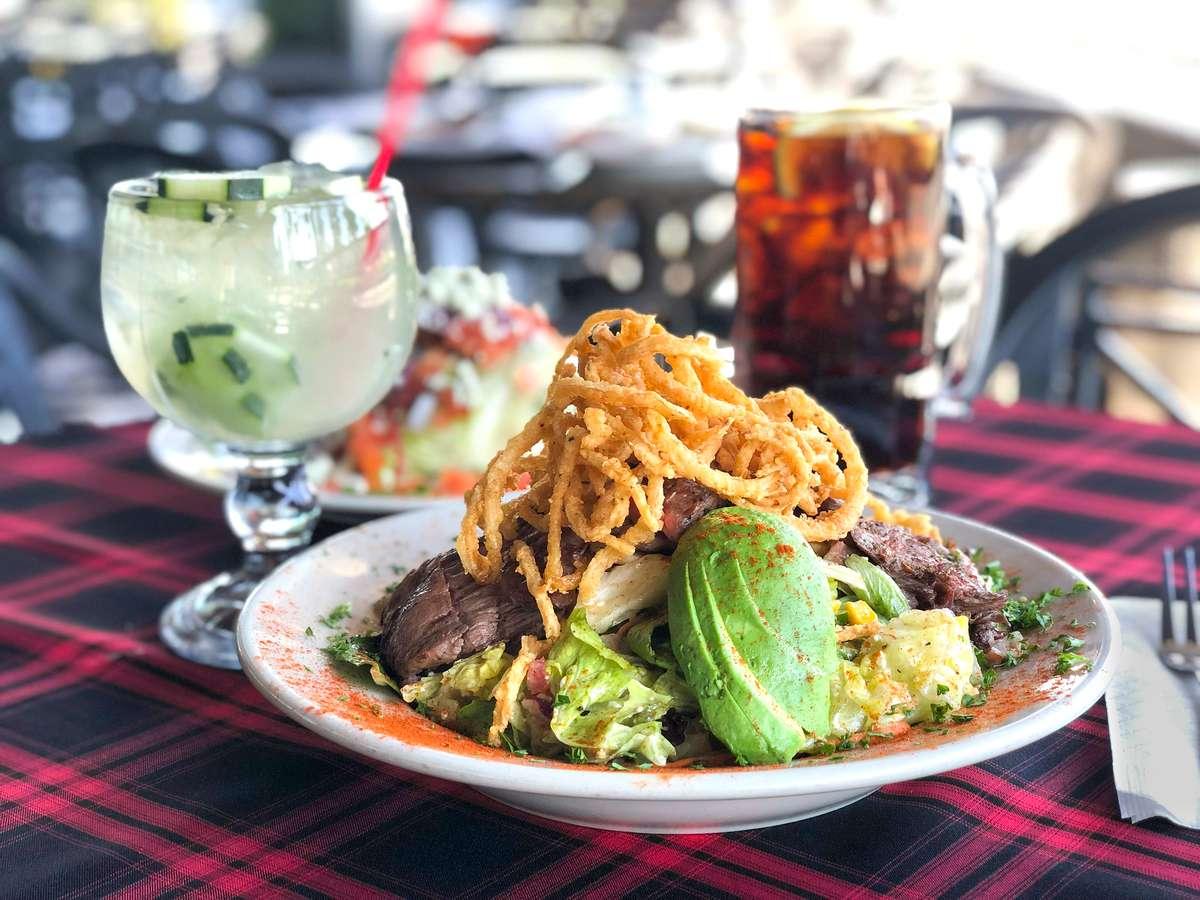 Angus Sirloin Steak Salad