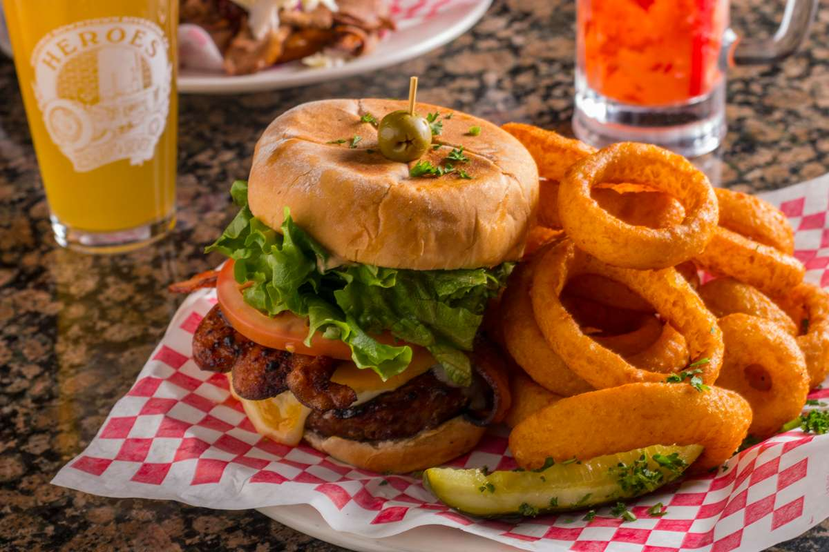 Red Tractor Burger