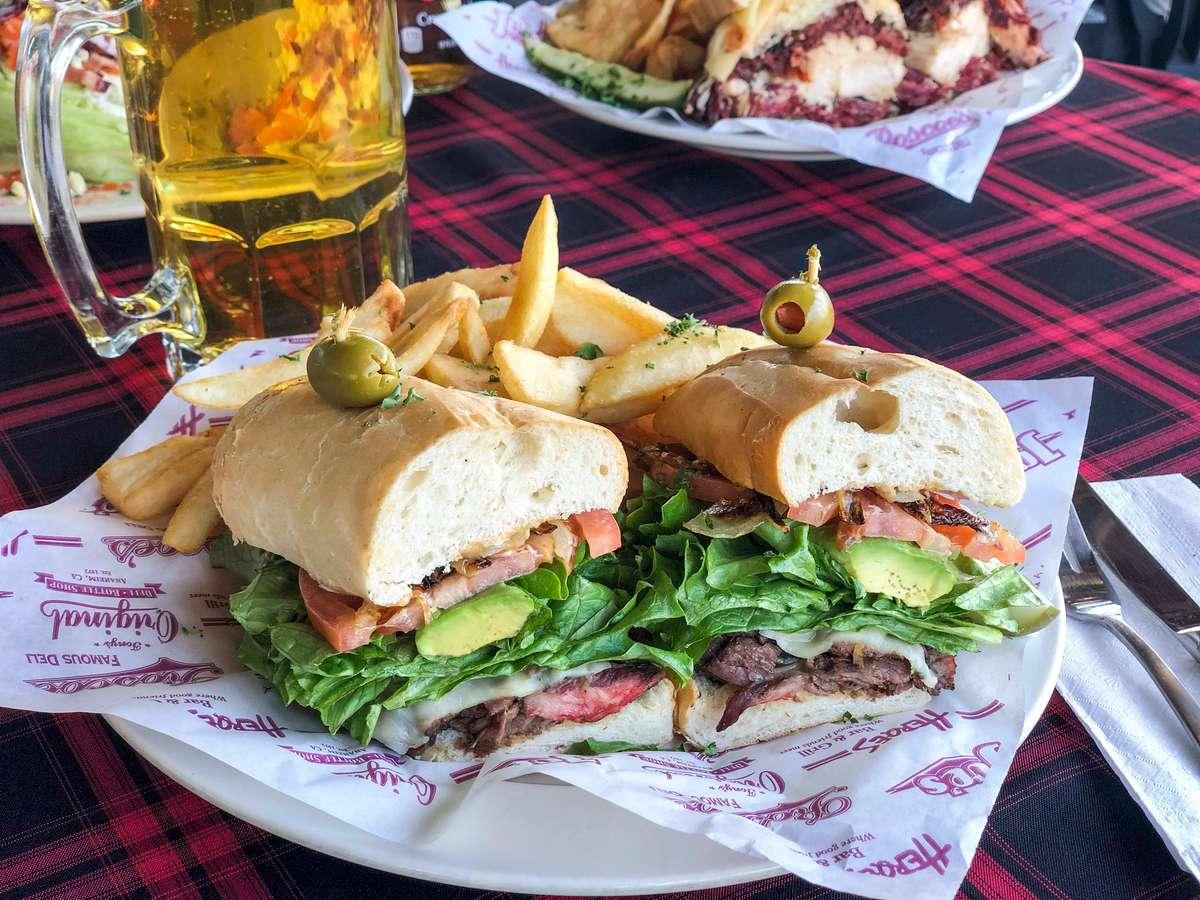 Roscoe's Steak Sandwich