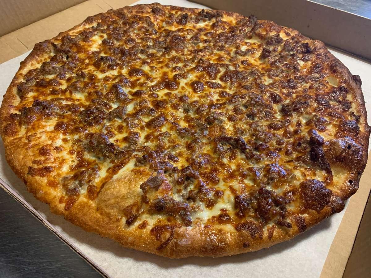 RIBEYE STEAK PIZZA