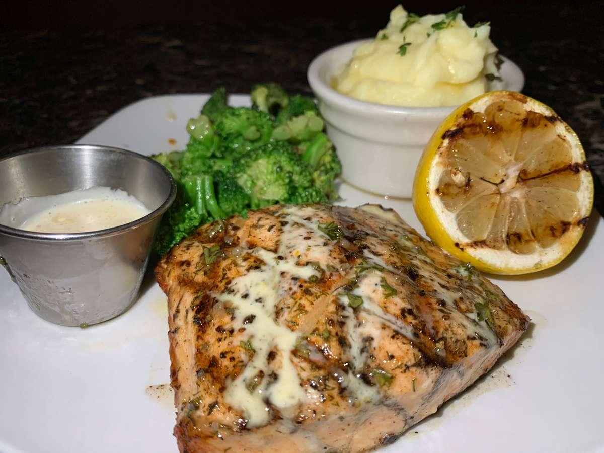 8oz Marinated Salmon