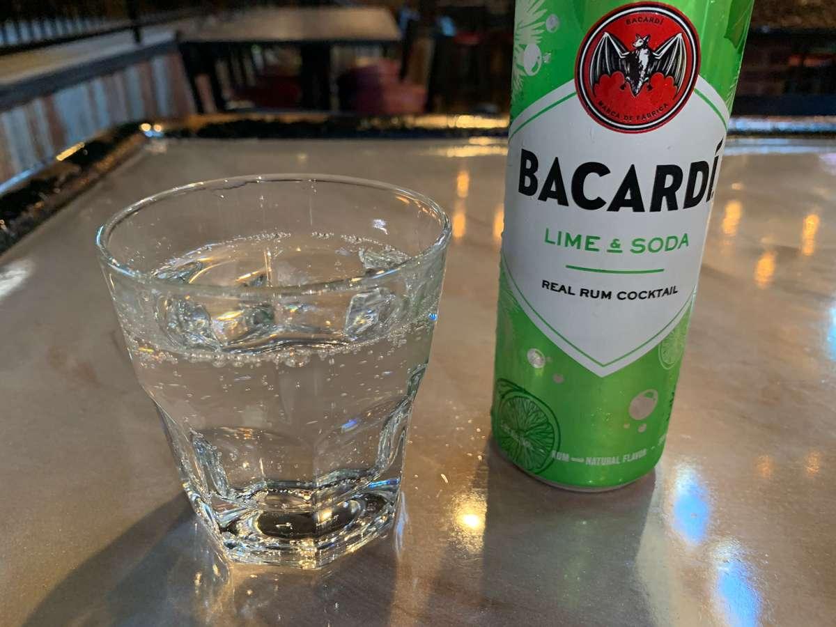 Bacardi Lime & Soda
