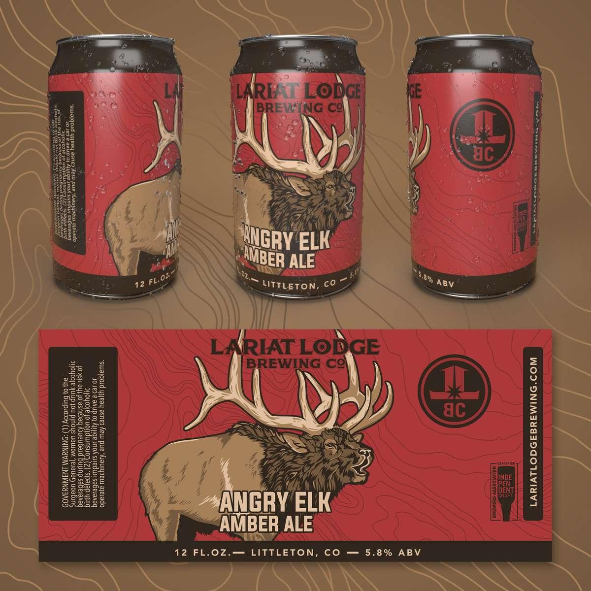 Angry Elk Amber Ale