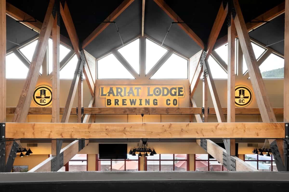 Lariat Lodge Littleton Logo Lights