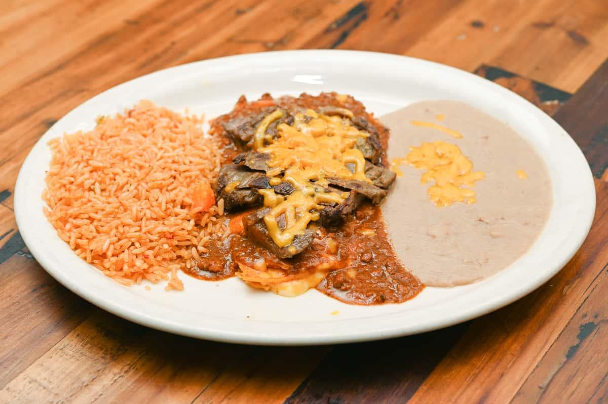 #6 Enchiladas Tejanas