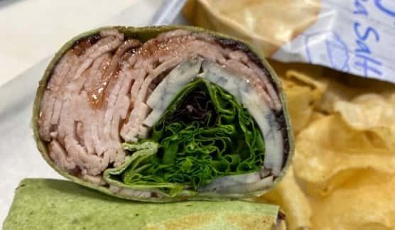 Fried & Blue Turkey Wrap
