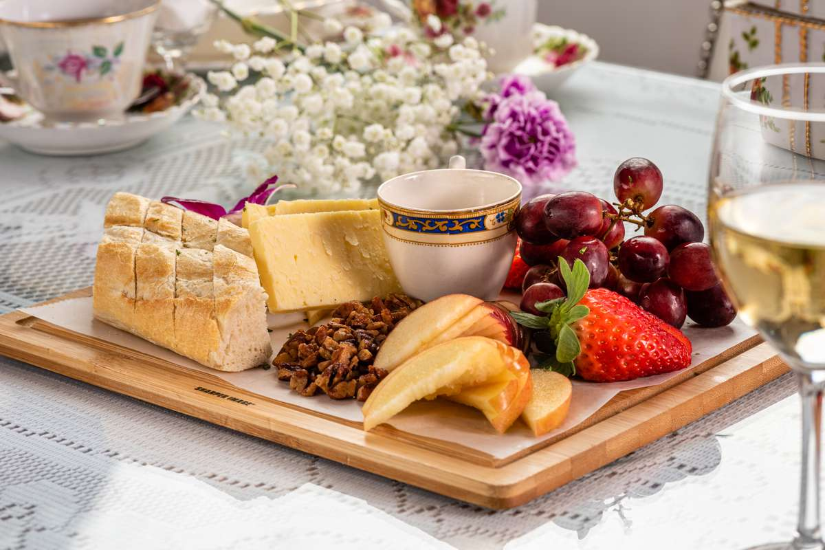 Cheese & Fruit