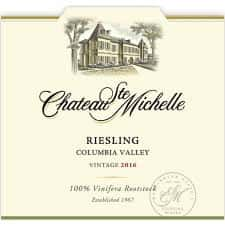 Riesling, Chateau St. Michelle, USA