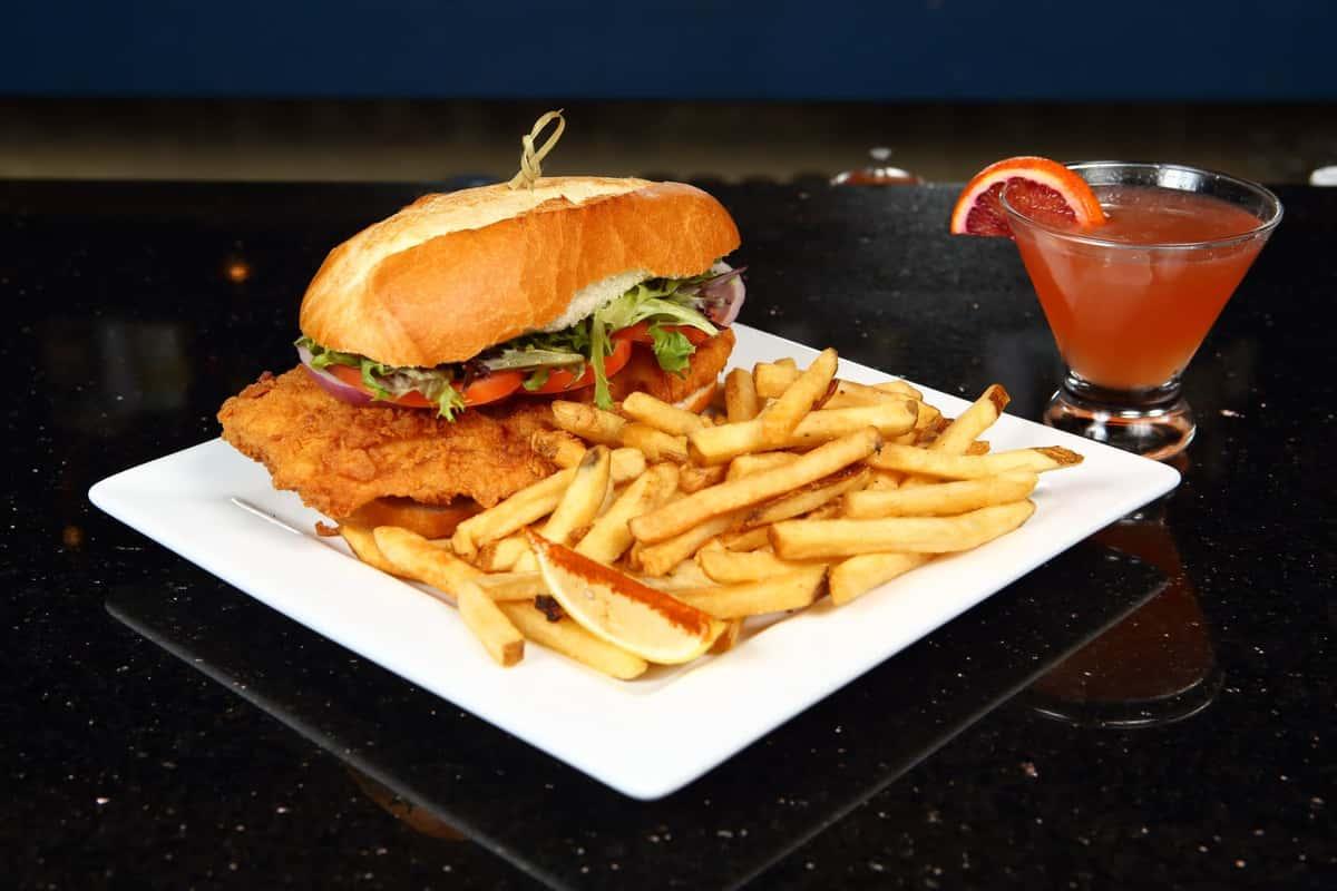 Cod Sandwich