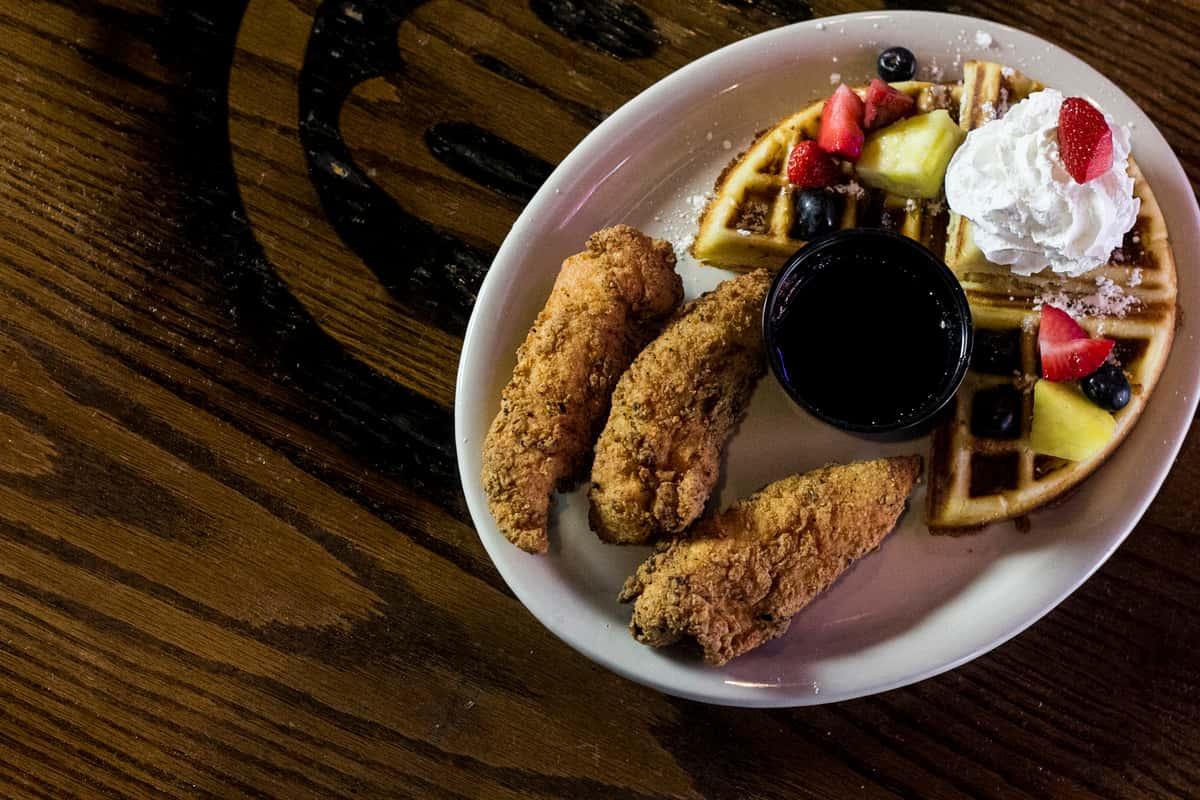 Grata Chicken and Waffles
