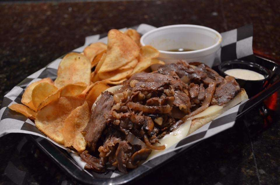 French Dip and Chips