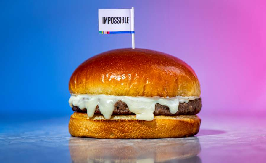 Impossible Truffle Burger