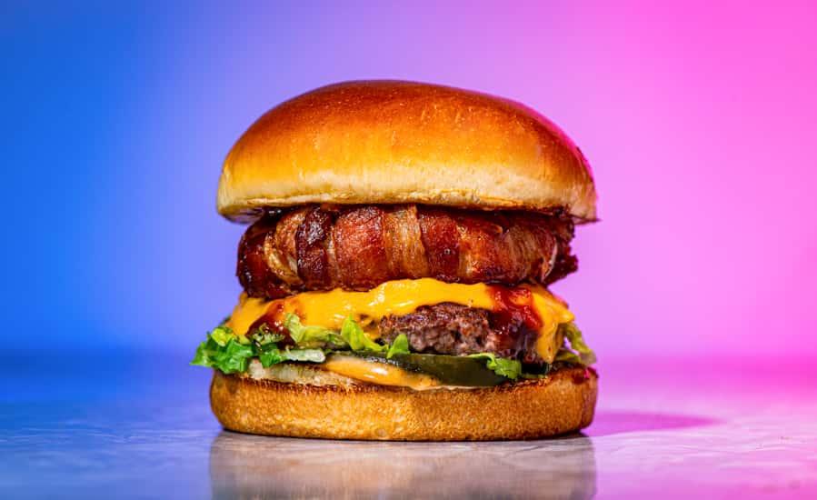 Texas BBQ Bacon Burger