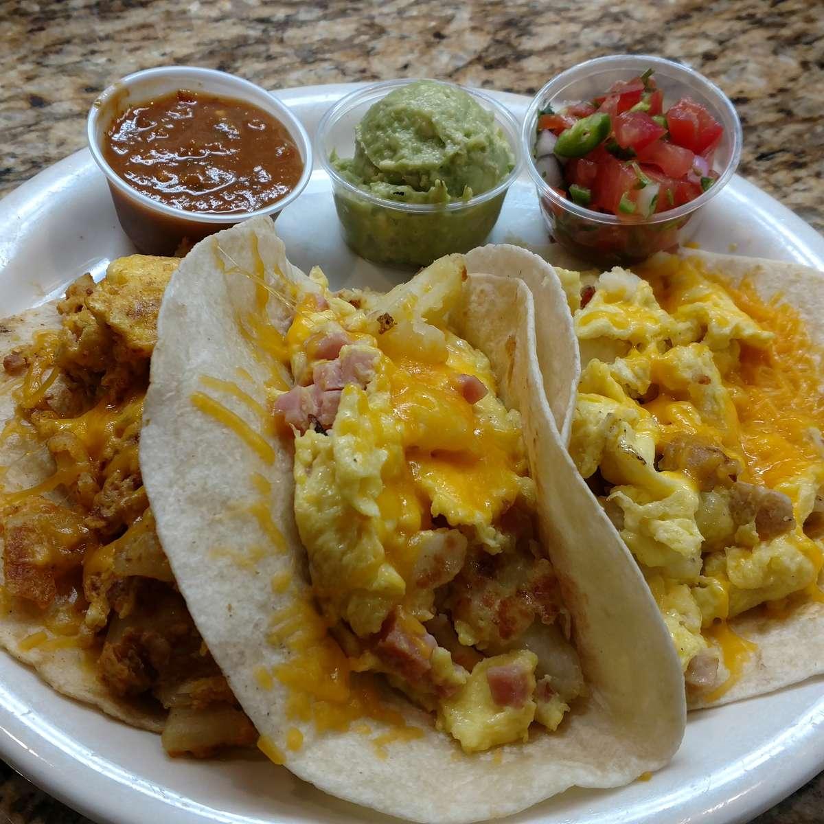 3 Breakfast Tacos