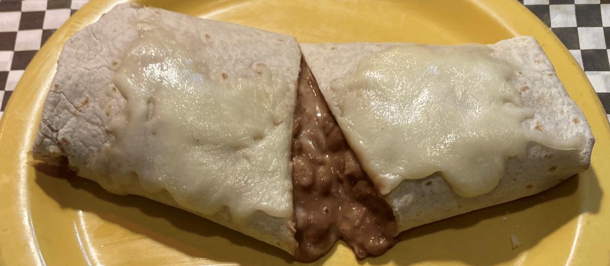 Bean and Cheese Burrito