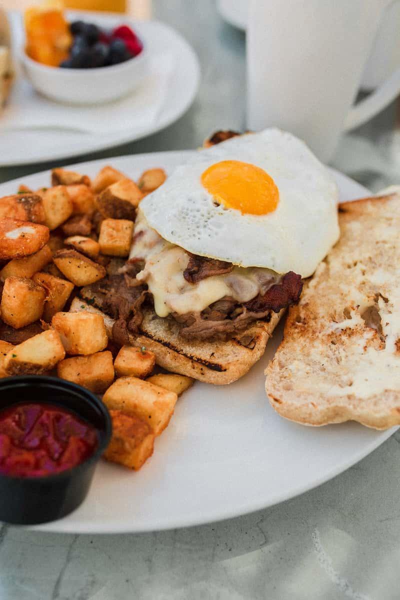 Prime Rib Breakfast Sandwich*