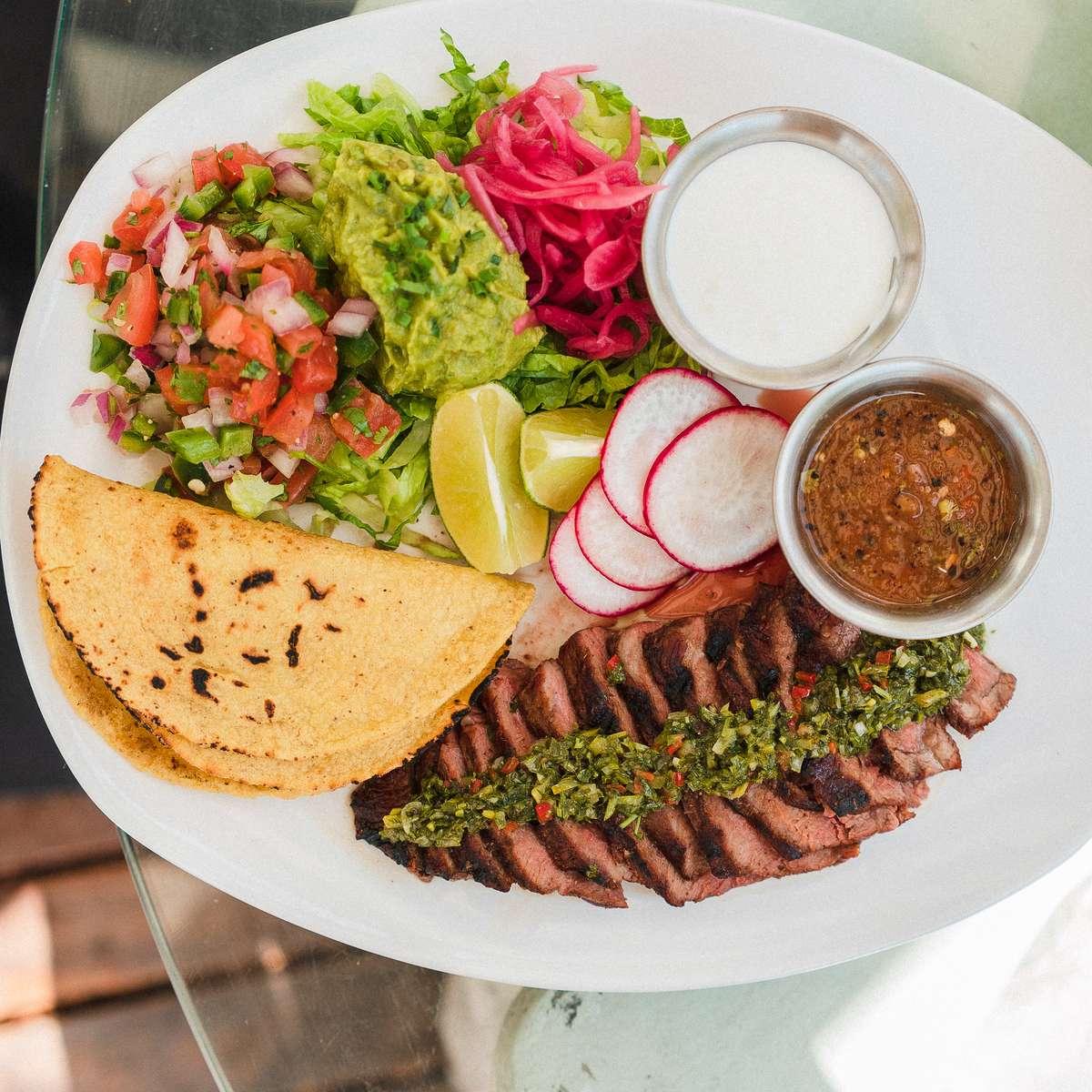 Steak Taco Plate*