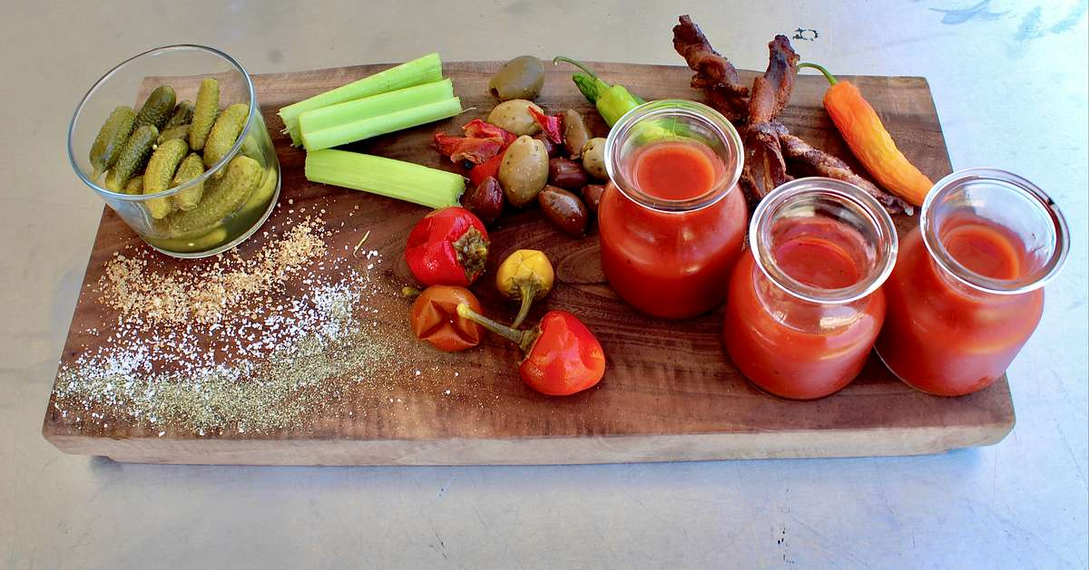 Bloody Mary Charcuterie