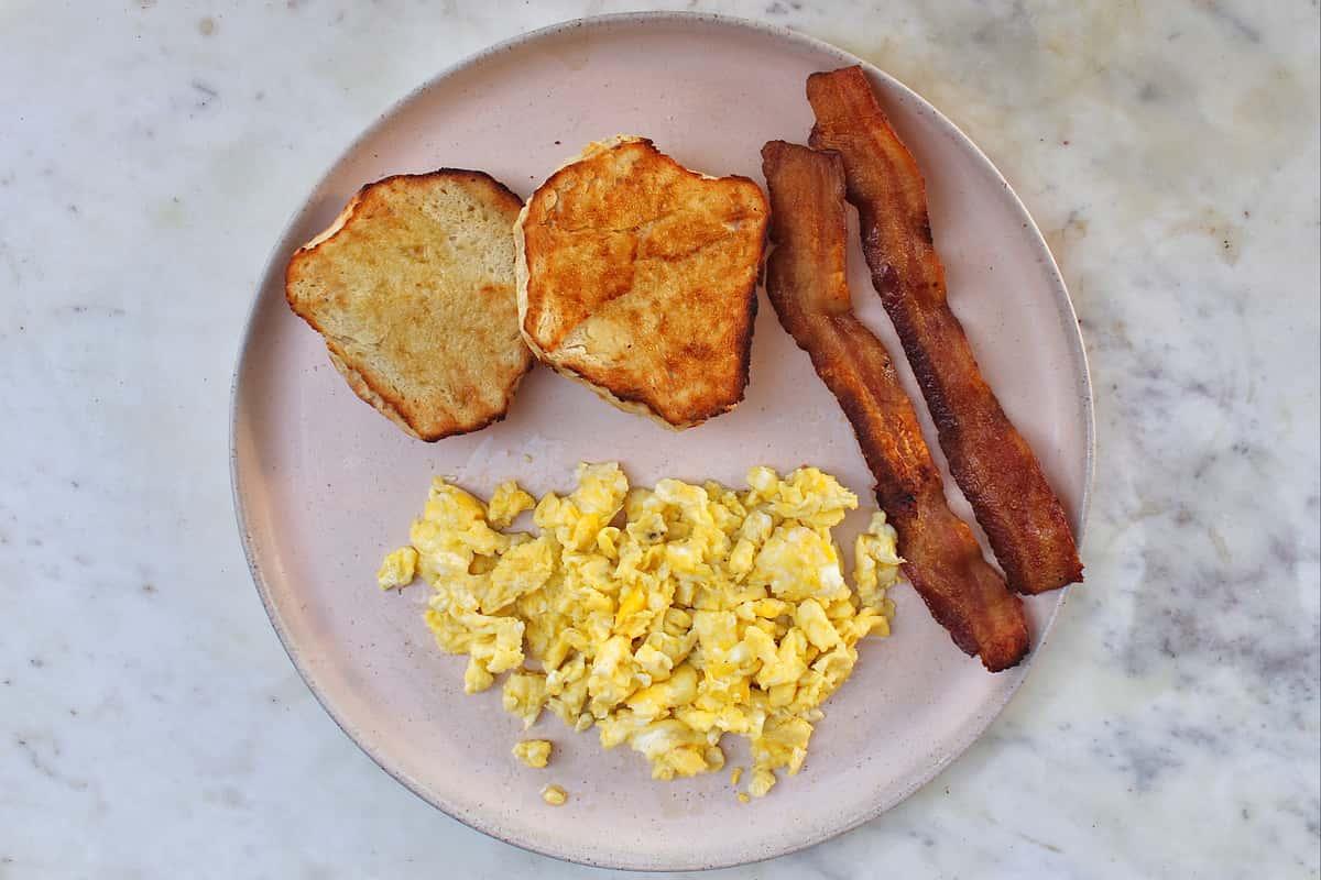 Kid's Egg, Bacon, & Toast