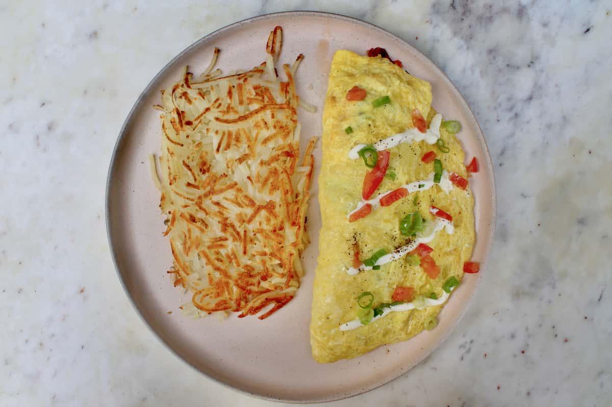 Salmon Lox Omelette