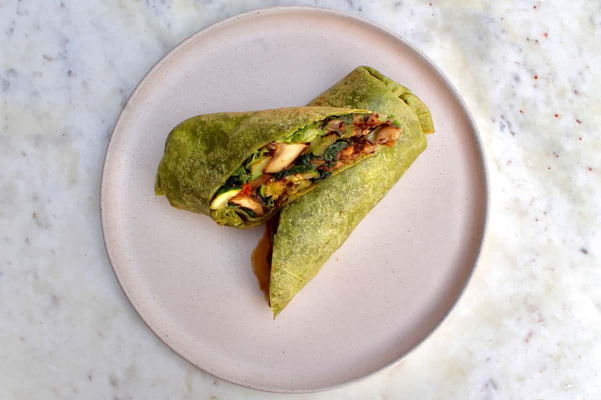 Grilled Veggie Burrito